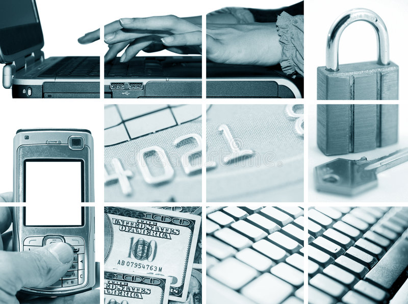 Download Electronic And Internet Business Royalty Free Stock Images - Image: 5435379