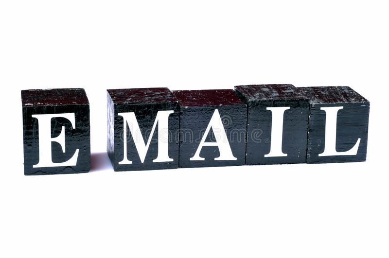 Electronic mail royalty free stock photography