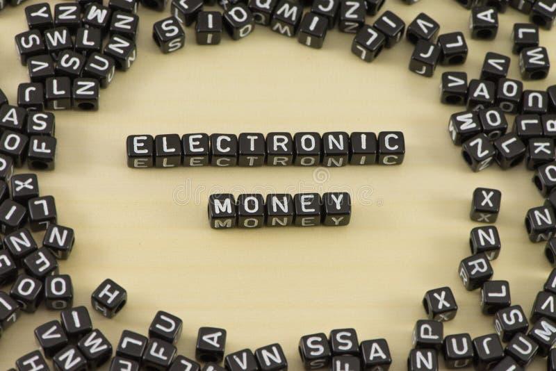 The electronic money stock image