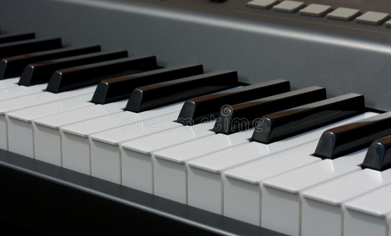 Download Electronic piano keyboard stock image. Image of musical - 25788201