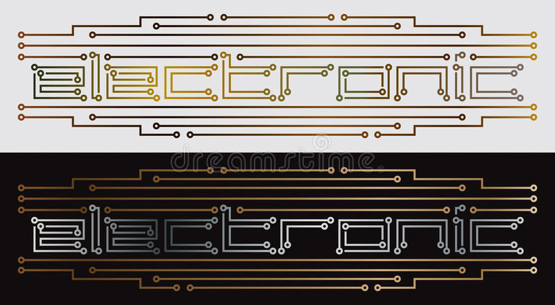 Electronic printed circuit