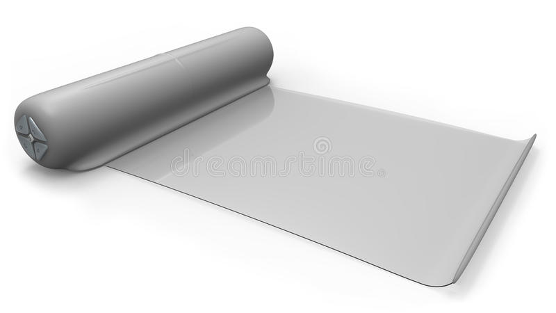 Download Electronic Reader With Flexible Screen Stock Illustration - Image: 25509738