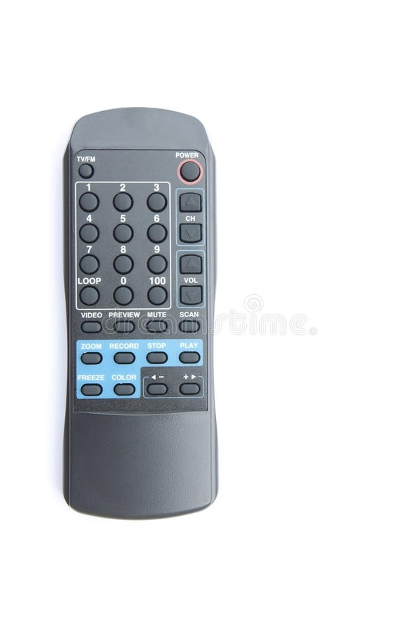 Download Electronic remote control stock image. Image of keypad - 18763911