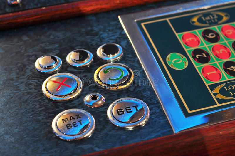 Electronic roulette stock photos