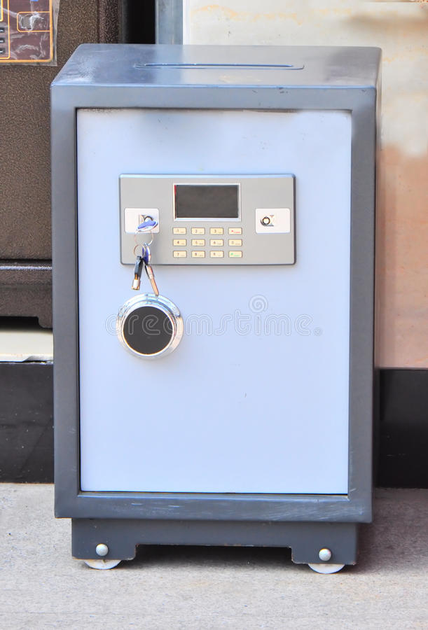 Electronic Safe Deposit Box Stock Images