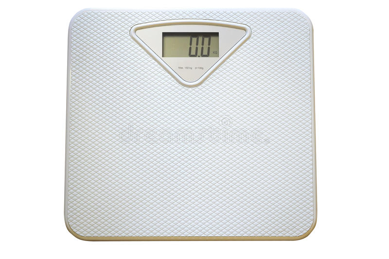 Electronic Scales Royalty Free Stock Photo