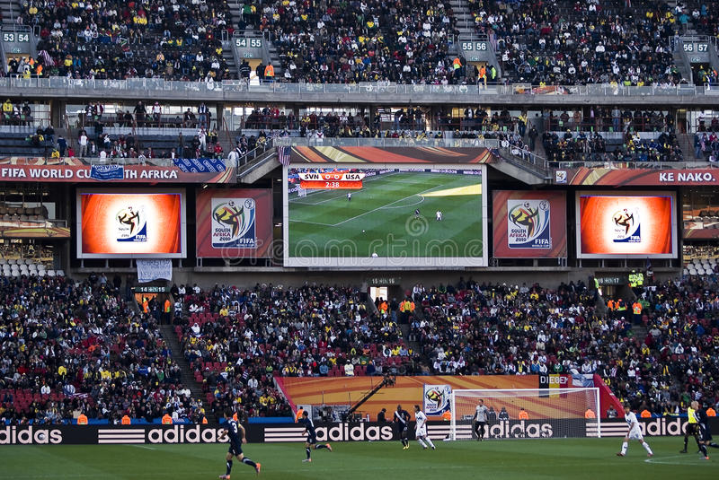 Download Electronic Scoreboard - FIFA WC Editorial Photography - Image: 14851312