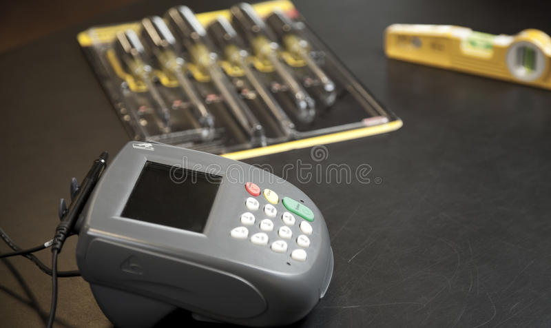Download Electronic Signature Pad stock photo. Image of transaction - 13842834