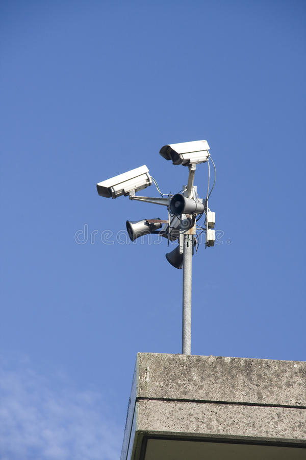 Electronic Surveillance Equipment Royalty Free Stock Photography