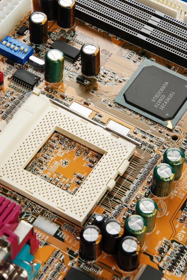 Download Electronic System Board Stock Image - Image: 12884001