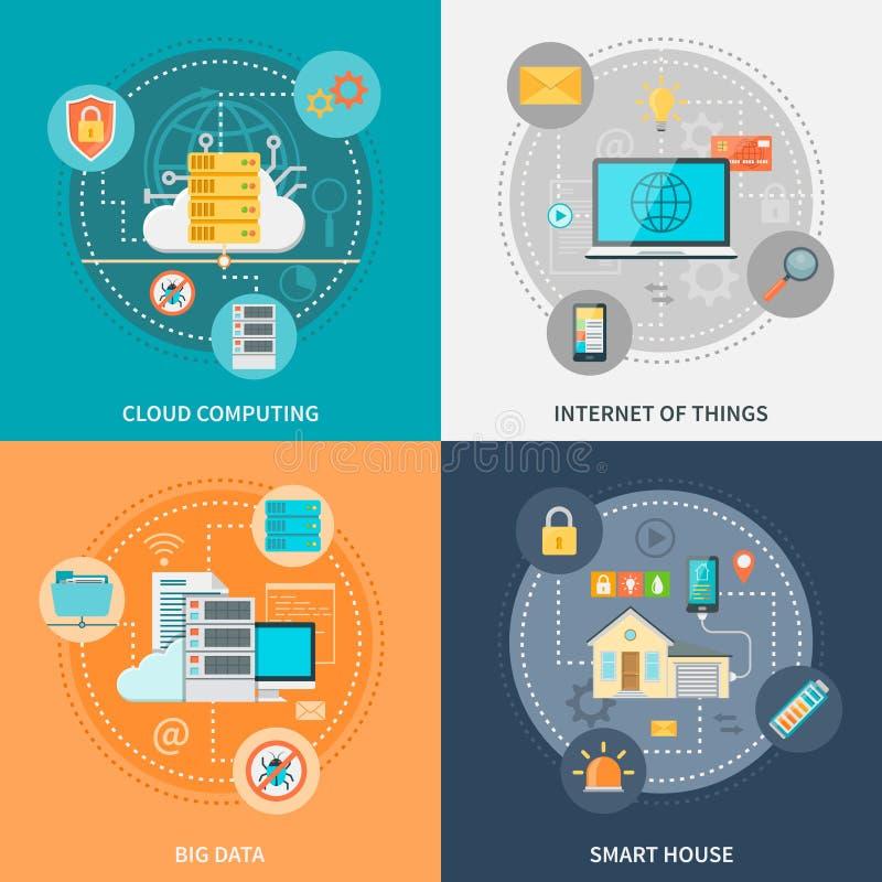 Electronic Systems para la seguridad y la conveniencia libre illustration
