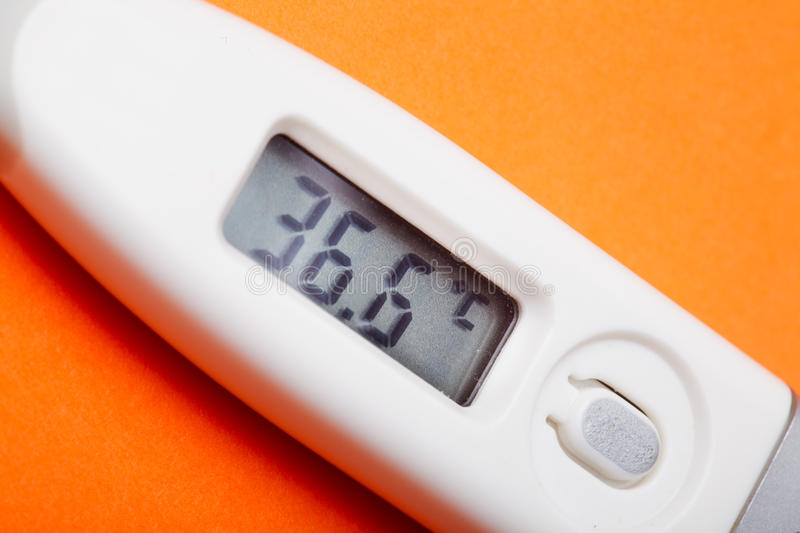 Download Electronic thermometer stock photo. Image of disease - 26285980