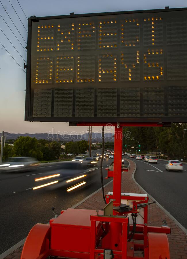 When Less Paperwork Means No Science |Electronic Highway Signs Expect Delays