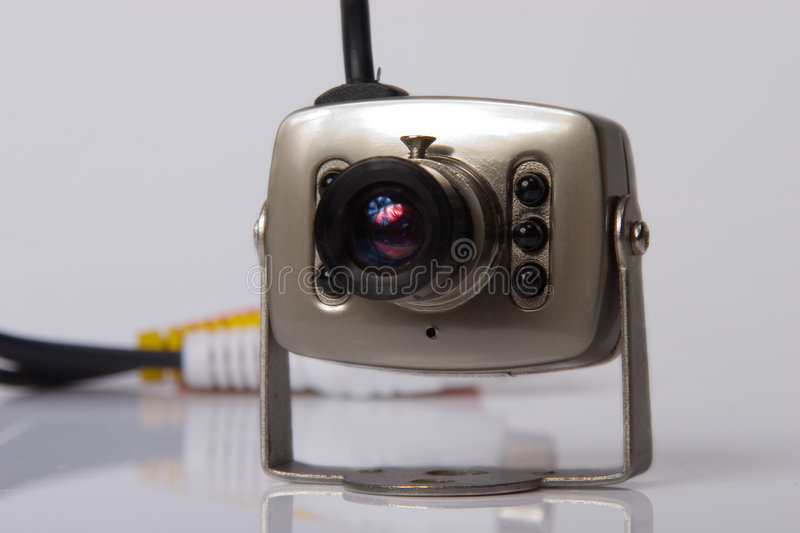 Electronic video surveillance royalty free stock image