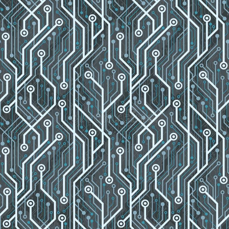 Electronic wallpaper vector illustration