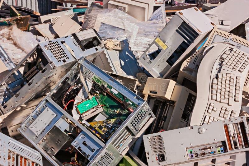 Electronic waste stock photos