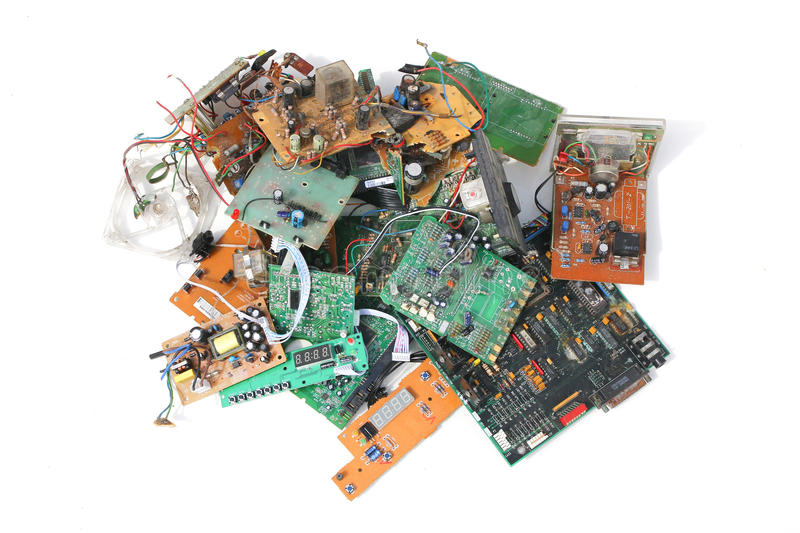 Download Electronic Waste - Series 3 Stock Photo - Image: 29267806