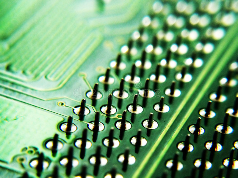 Download Electronics stock image. Image of path, dots, conductive - 160287