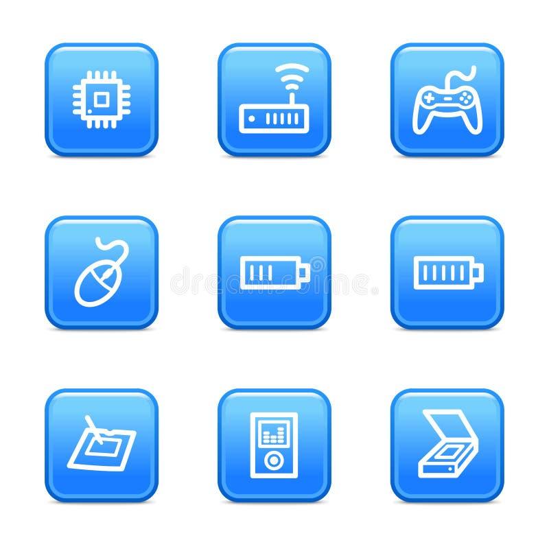 Free Electronics 2 Web Icons Royalty Free Stock Images - 6273589