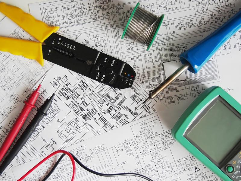 electronics background stock photo image of diagrams 65152414 simple circuit diagram download electronics background stock photo image of diagrams 65152414
