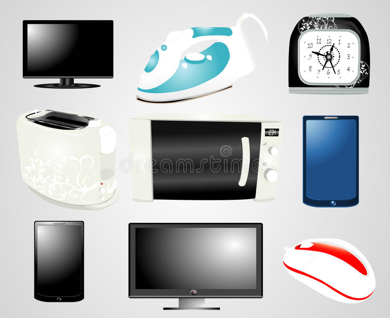 Download Electronics Collection Royalty Free Stock Photo - Image: 21566575