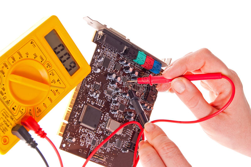 Download Electronics engineer stock photo. Image of color, equipment - 28190428