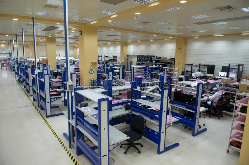 Electronics Factory view royalty free stock images