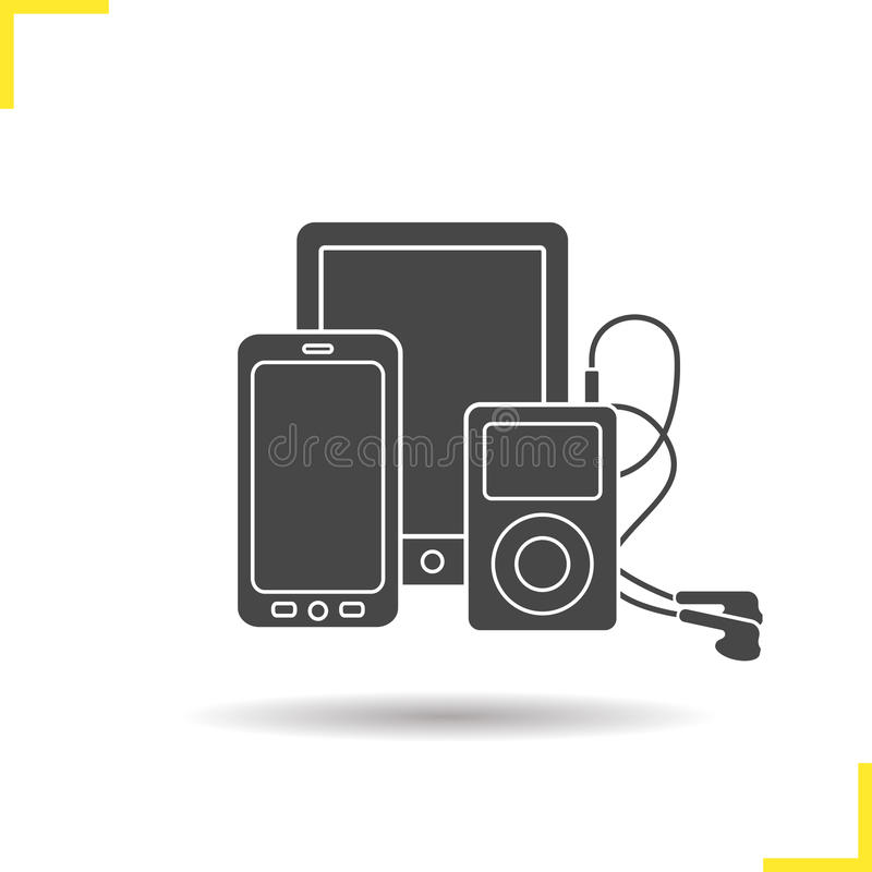 Electronics Gadgets Icon Stock Vector Illustration Of Symbol 72485926