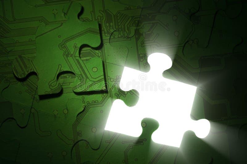 Download Electronics Puzzle Stock Photo - Image: 19401940