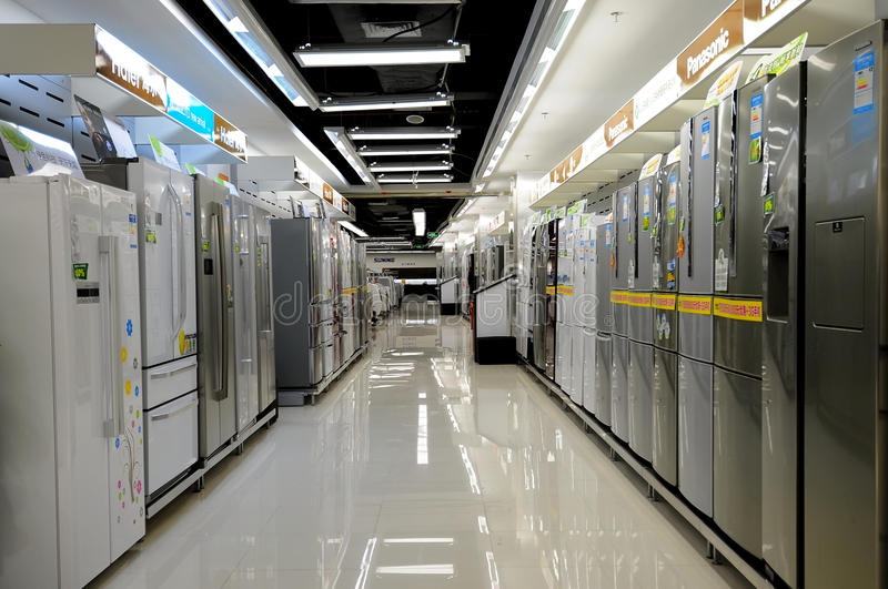 Download Electronics Stores,refrigerator Editorial Photography - Image: 20798647
