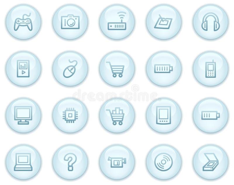 Download Electronics  Web Icons Stock Image - Image: 8973341