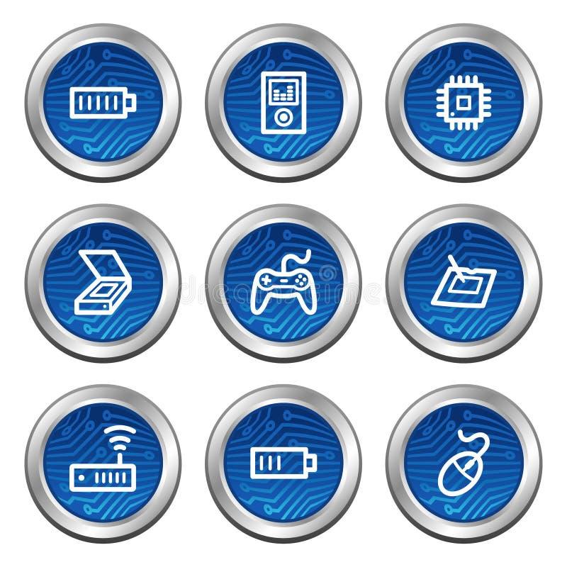 Free Electronics Web Icons Set 2 Stock Photo - 7931690