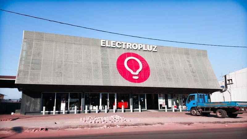 Electropluz una grande memoria elettronica fotografia stock libera da diritti