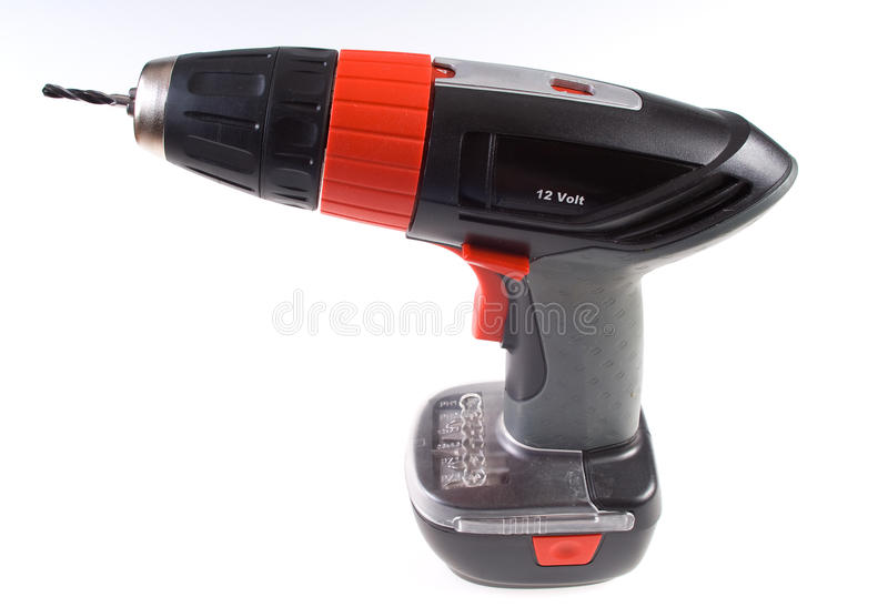 Download Electroscrew-driver Isolated Stock Photo - Image: 16461266