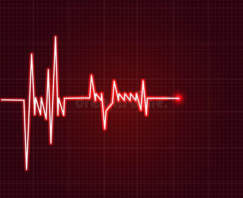 Electrowave heart beat, cardiogram. Pulse icon. Electrowave heart beat, cardiogram. Pulse vector illustration. eps 10 vector illustration stock illustration