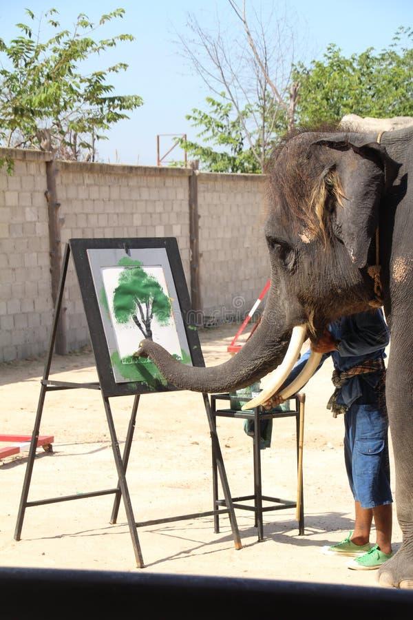 Elefant Malt Bild