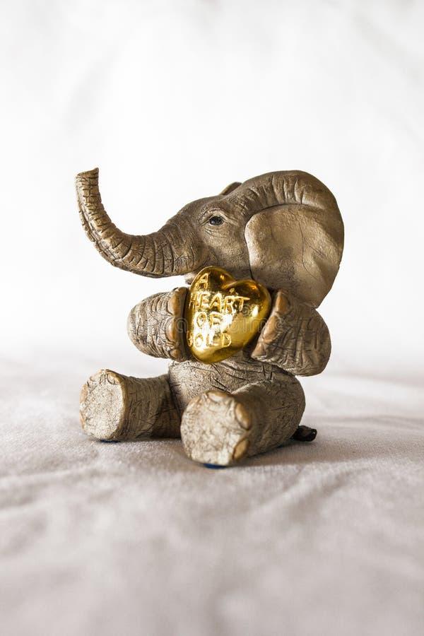 Elefant-Figürchen stockfotos