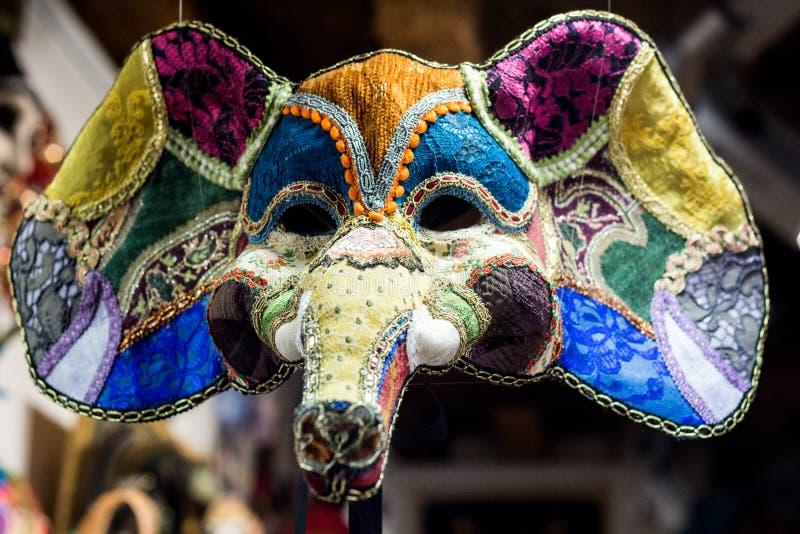 Elefant-Karnevals-Maske lizenzfreie stockfotografie