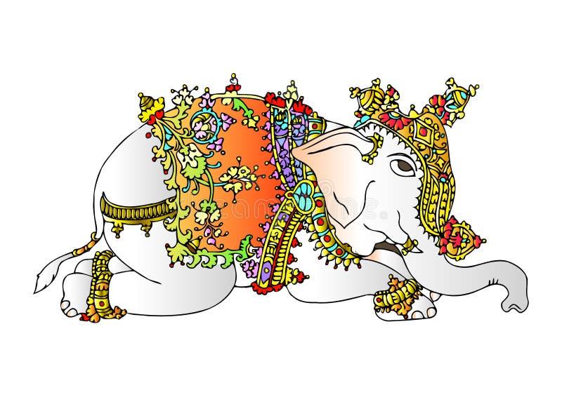 Download Elefante ilustración del vector. Imagen de arte, cubo - 11012610