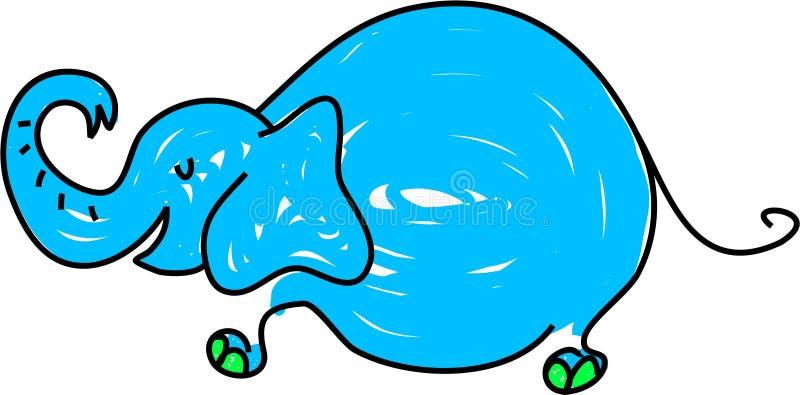 Elefante illustrazione vettoriale