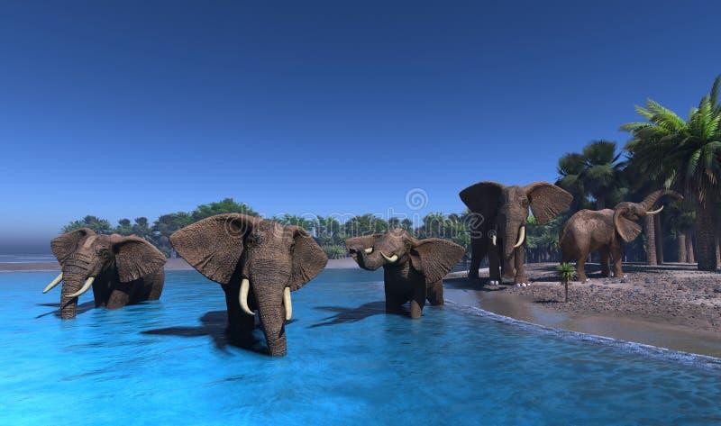 Elefante. ilustración del vector