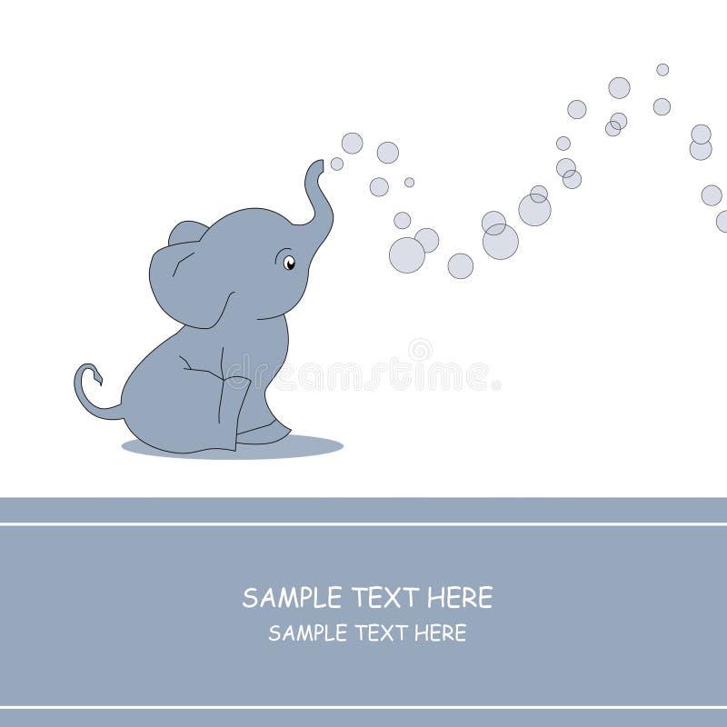 Elefante-bolle royalty illustrazione gratis