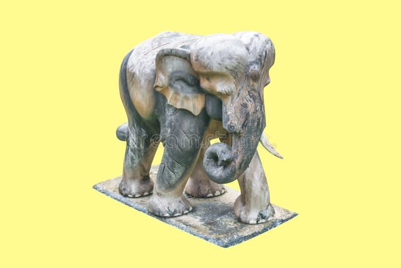 Elefante cinzelado de madeira fotos de stock royalty free