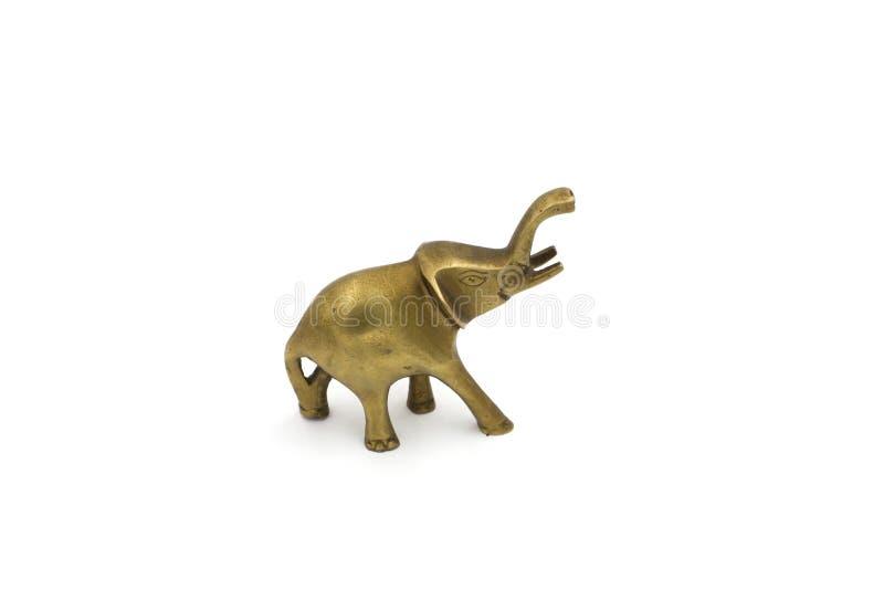 Elefante de cobre decorativo imagem de stock