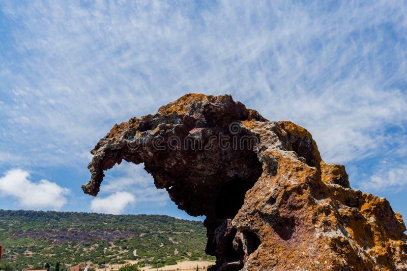 Elefante del ` del dell di Roccia fotografia stock libera da diritti
