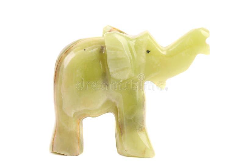 Elefante del jade. foto de archivo libre de regalías