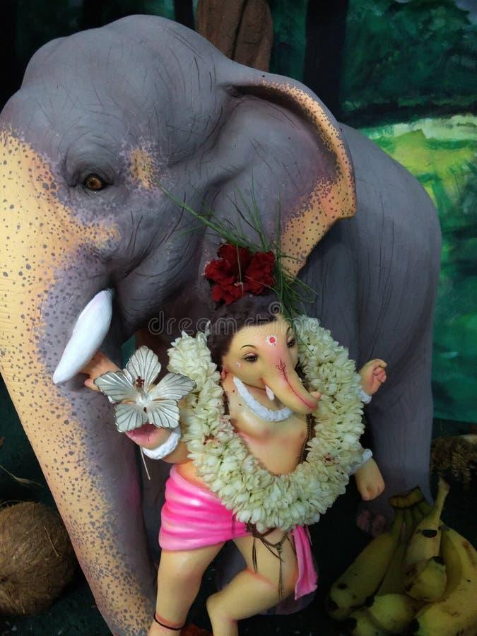 Elefante Dio Ganesh fotografie stock libere da diritti