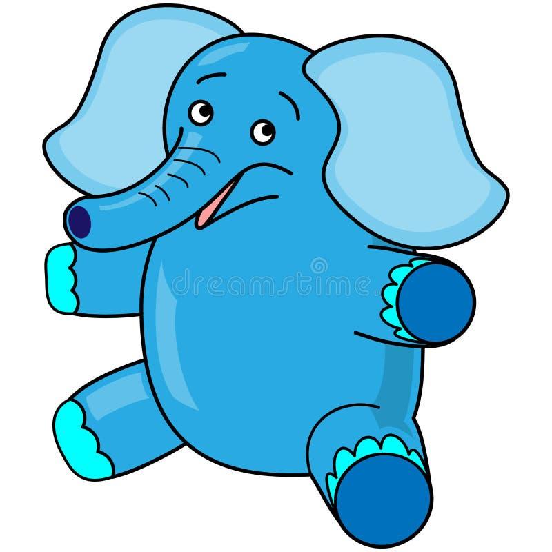 Elefante do brinquedo ilustração stock