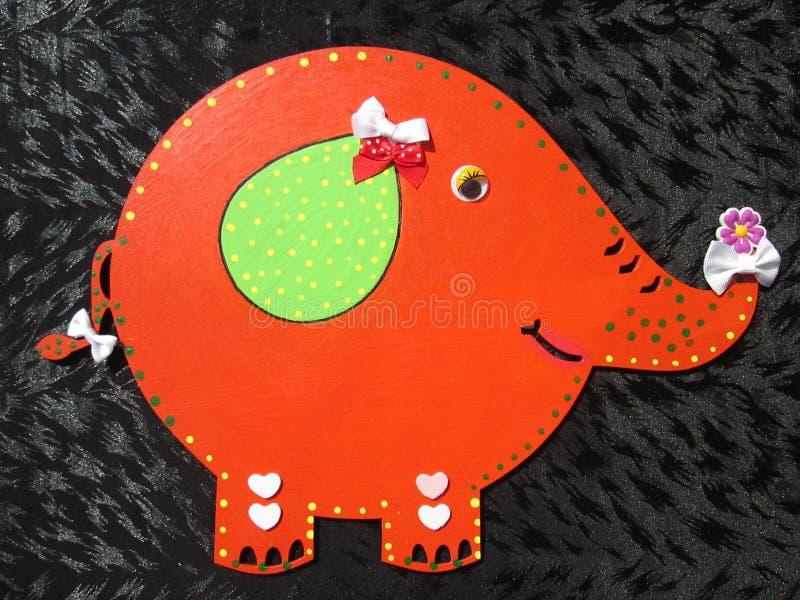 Elefante do brinquedo fotografia de stock