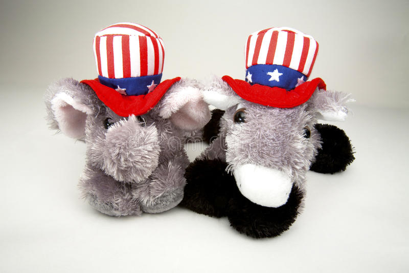 Elefante e asno foto de stock